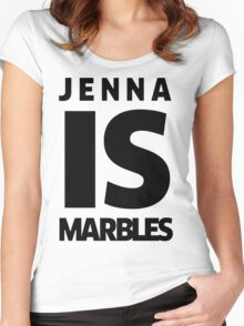 Jenna IS Marbles Women's Fitted Scoop T-Shirt