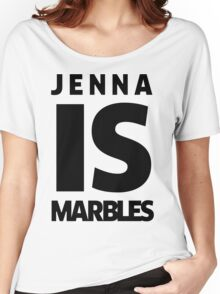 Jenna IS Marbles Women's Relaxed Fit T-Shirt