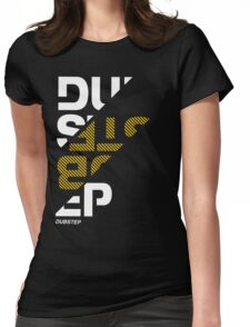 Dubstep sliced Womens Fitted T-Shirt