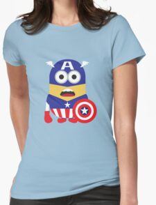 Super-Minion Womens Fitted T-Shirt