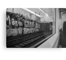 The Commuter Metal Print
