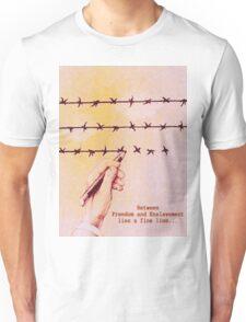 Freedom and Enslavement Unisex T-Shirt