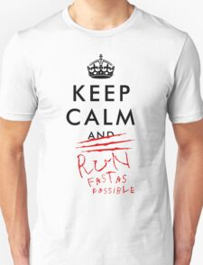 Keep calm and RUN v02 T-Shirt