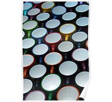 Cups at the Market Poster