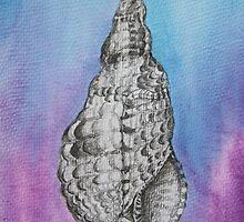tie dye shell by diane nicholson