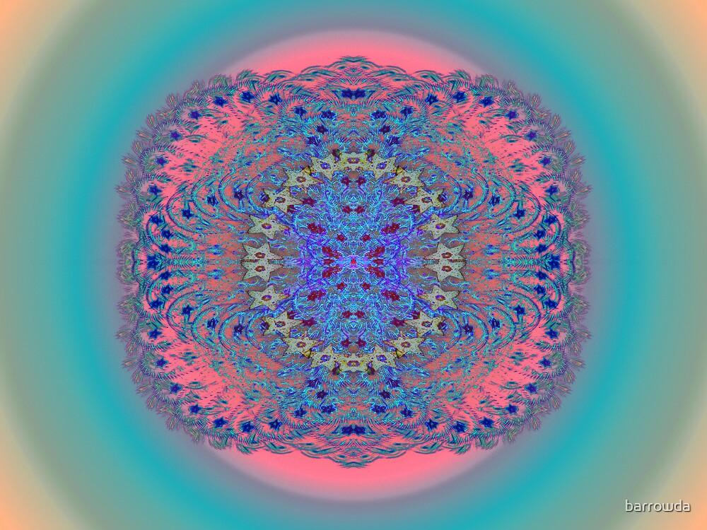Tut67#8: Pastel Starburst  (G1459) by barrowda