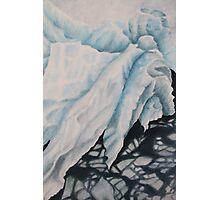 blue ice 2 Photographic Print