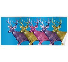 Longer deer Poster