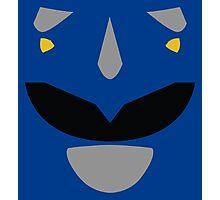 Mighty Morphin Power Rangers Blue Ranger Photographic Print
