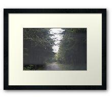 Oil City Road Framed Print