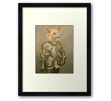 Fox Knight Framed Print