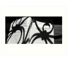 writings of the spider #1 Art Print