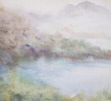mist on corsica by rysunki-malunki