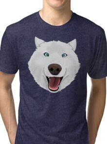 Crazy Husky Tri-blend T-Shirt