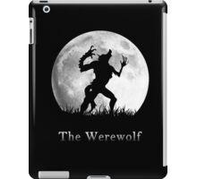 Werewolf at the Full Moon iPad Case/Skin