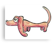 Sausage Dog Canvas Print