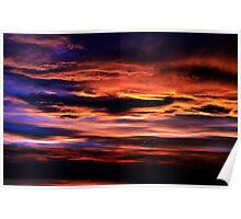 Sunset At Toad Rock Poster