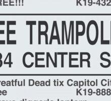 FREE TRAMPOLINE Sticker
