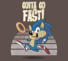 Speedy the Hedgehog (vintage) by TeeKetch