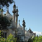 Brighton Pavillion by Gabrielle Battersby