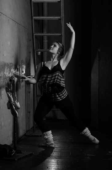 Basement ballet by Brian Edworthy