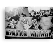 May Day Demo, Berlin 2011 Canvas Print