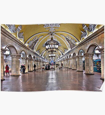Moscow Metro Poster