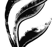 Black Magic 301 - Black And White Art by Sharon Cummings