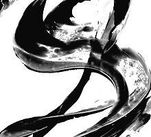 Black Magic 307 - Black And White Art by Sharon Cummings
