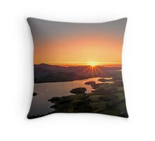 Sunset over Keswick Throw Pillow