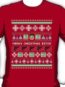 Merry Christmas Bitch Sweater + Card T-Shirt