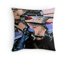 Fins for Fifty-nine Throw Pillow