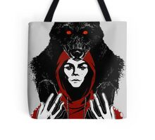 lil' red ridin' hood Tote Bag