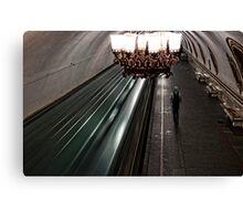 Moscow Metro Canvas Print