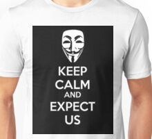 Anonymous face Unisex T-Shirt