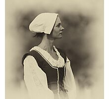 A lady in waiting Photographic Print