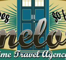 TIMELORDS TIME TRAVEL AGENCY Sticker