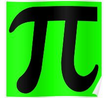 Pi Flavour Green Poster