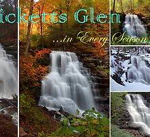 Ricketts Glen ...in Every Season - Calendar Cover by Gene Walls