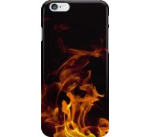 Flames in the dark iPhone Case/Skin