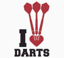I Love Darts by Style-O-Mat