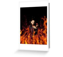 The Evil Queen - Once Upon a time Greeting Card