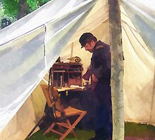 Civil War Officer's Tent by Susan Savad