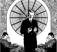 Nikola Tesla by Jayson  Orr