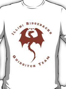 Illini Quidditch Logo T-Shirt