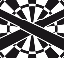 Darts Board Sticker