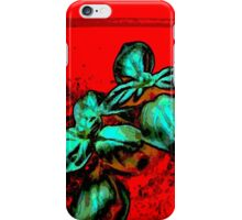 red landscape iPhone Case/Skin