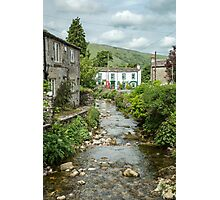 River through the town Photographic Print