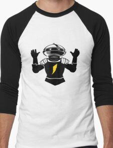 Mighty Morphin Power Rangers Alpha 5 Men's Baseball ¾ T-Shirt