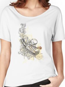 Music-mic-illustration Women's Relaxed Fit T-Shirt
